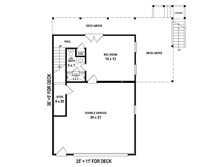 1st Floor Plan, 006G-0144