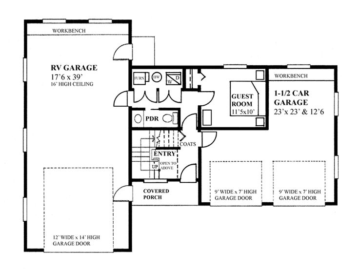 Garage Apartment Plans Stylish Garage Apartment Plan
