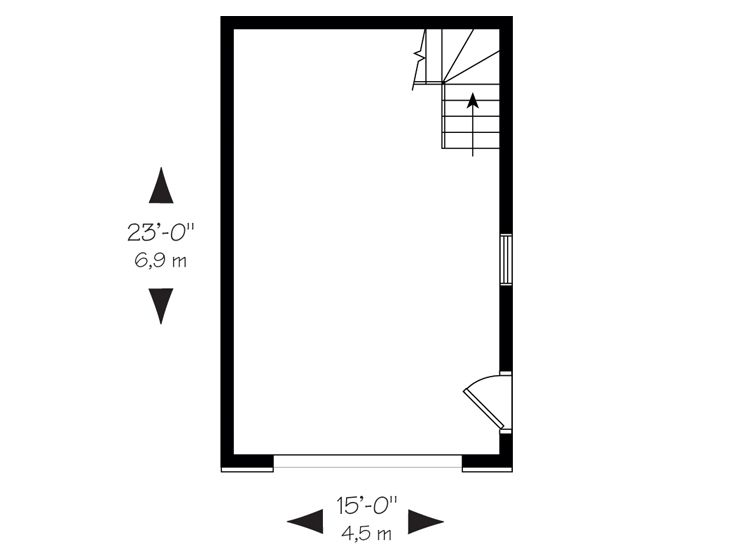 1st Floor Plan, 028G-0008