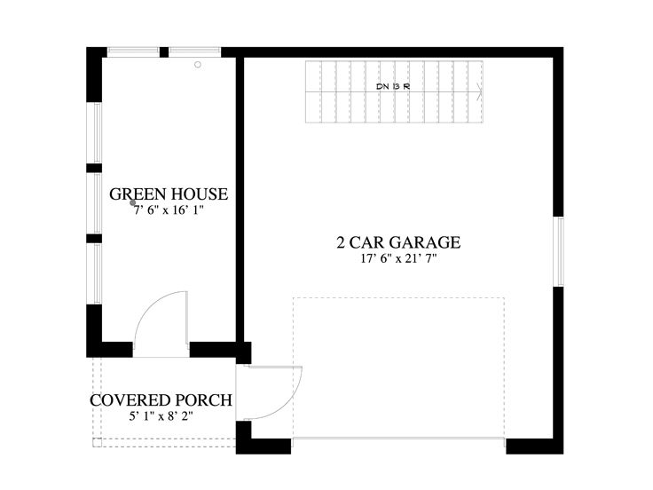 1st Floor Plan, 065G-0004