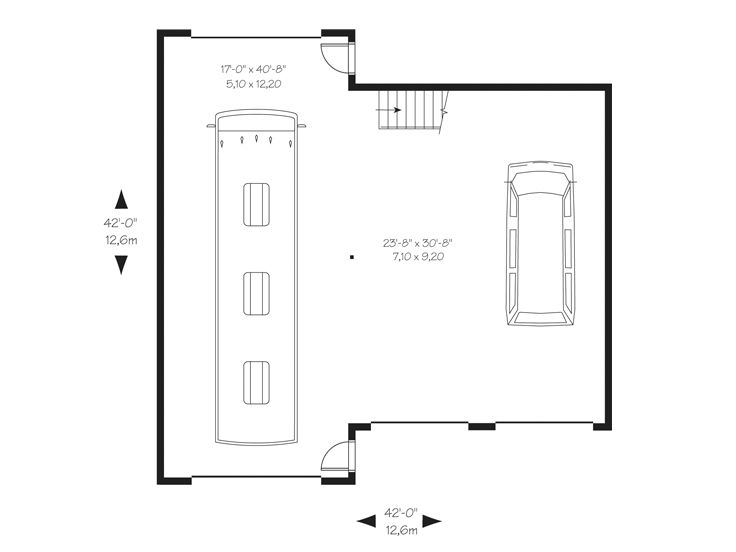 1st Floor Plan, 028G-0052