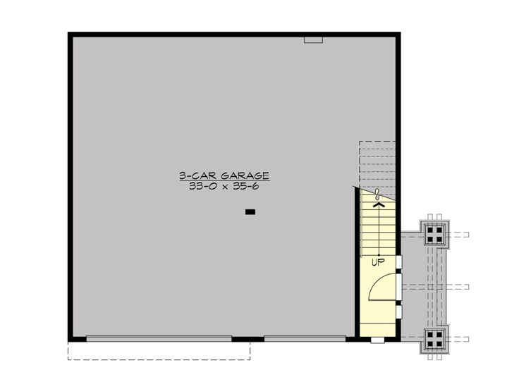 1st Floor Plan, 035G-0023