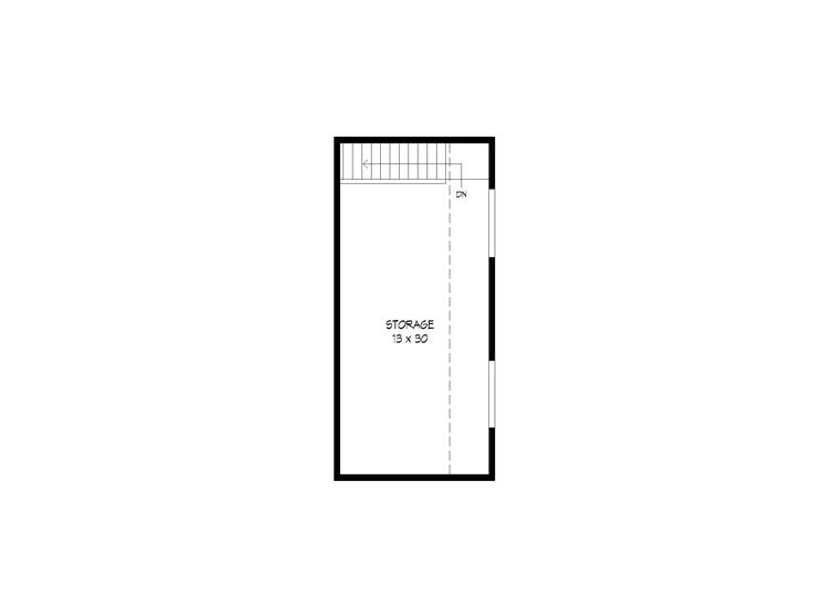2nd Floor Plan, 062G-0121