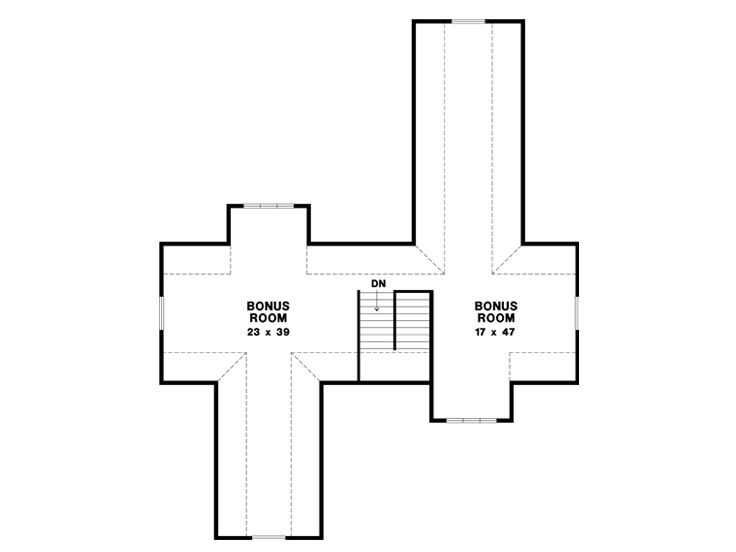 2nd Floor Plan, 024G-0008