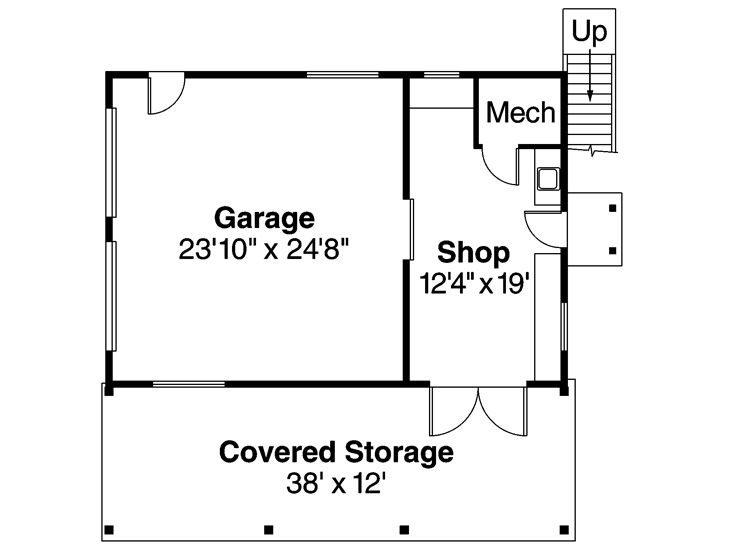 Garage Shop Floor Plans House Design