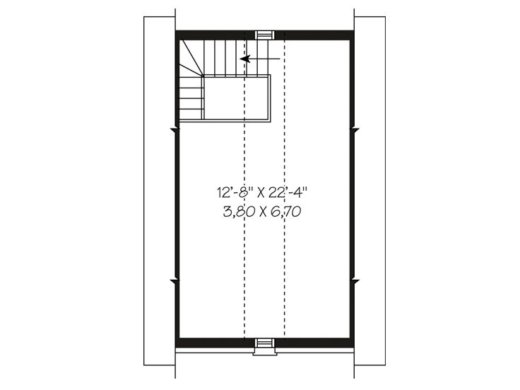 2nd Floor Plan, 028G-0004