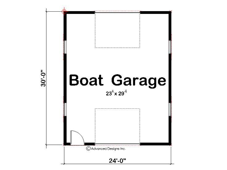Drive Thru Garage Plans Drive Thru Garage Plan For Boat