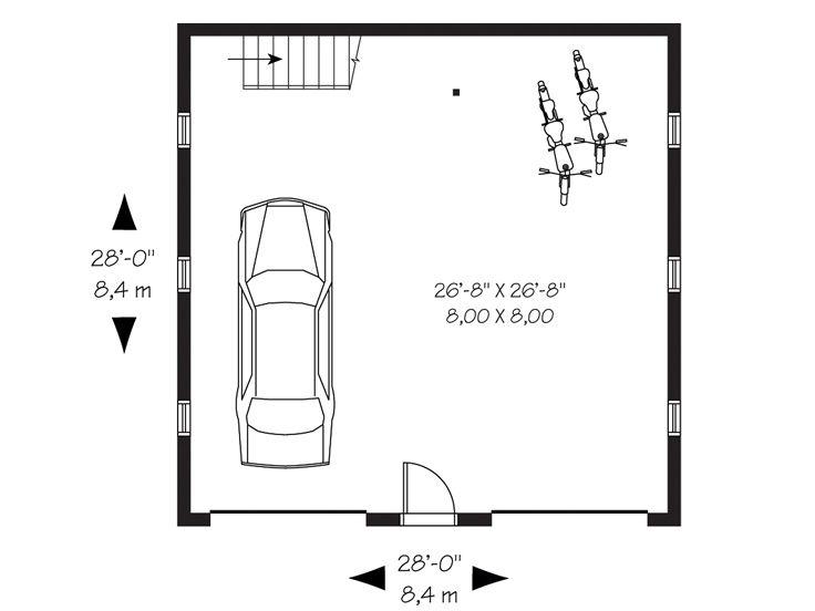 Garage Loft Plans Detached 2 Car Garage Loft Plan 028g 0016 At Www Thegarageplanshop Com,Hidden Toy Storage In Living Room