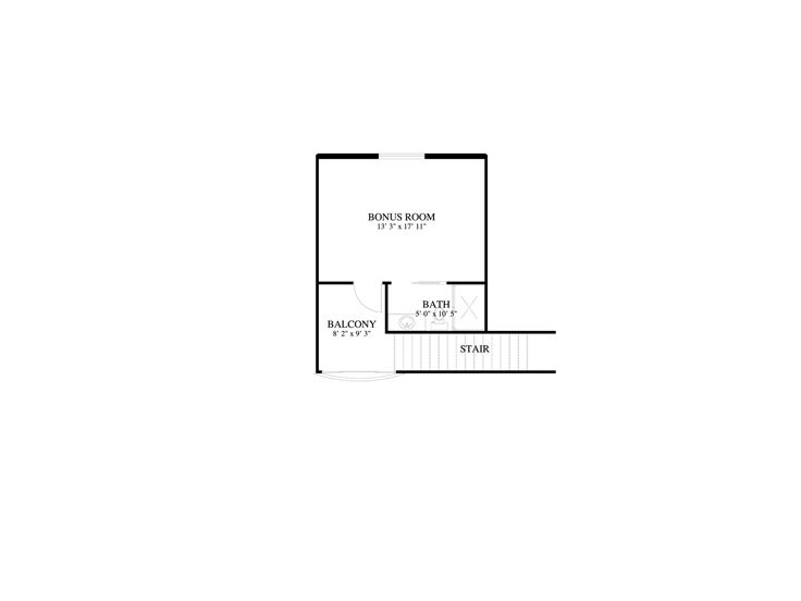 2nd Floor Plan, 065G-0007