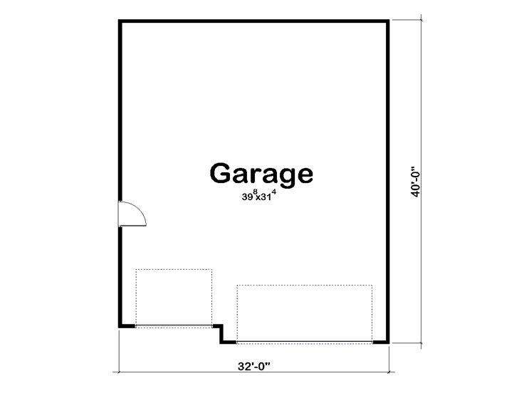 Tandem garage plans tandem garage plan parks 6 cars for 4 car tandem garage house plans