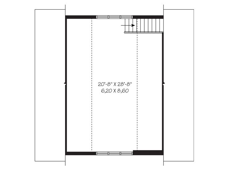 Garage loft plans three car garage loft plan 028g 0039 2nd floor loft ideas