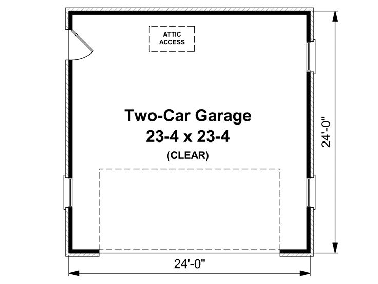 How Big Is A Garage Home Design Ideas And Pictures