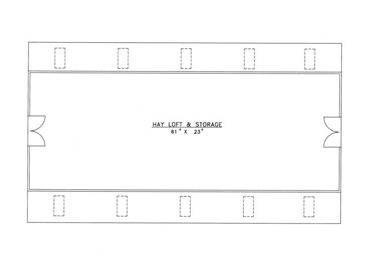 2nd Floor Plan, 012B-0002