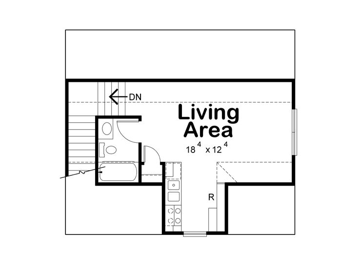 2nd Floor Plan, 031G-0001