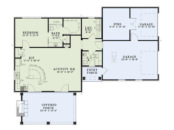 Garage Apartment Plans Unique Garage Apartment Plan Doubles As A