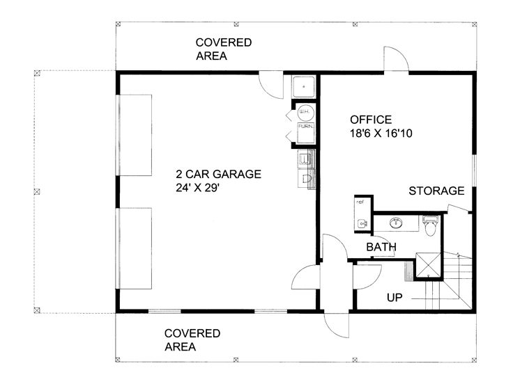 Plan 012g 0117 Garage Plans And Garage Blue Prints From