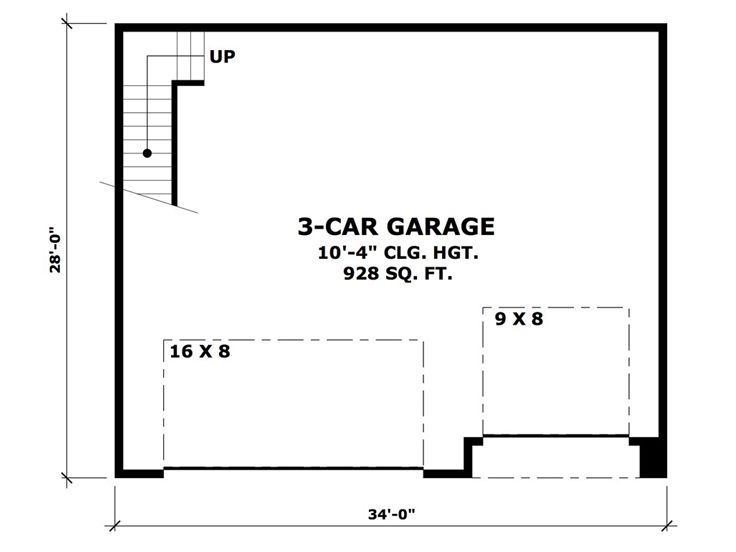1st Floor Plan, 023G-0001