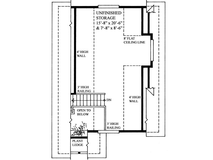 2nd Floor Plan, 010G-0004