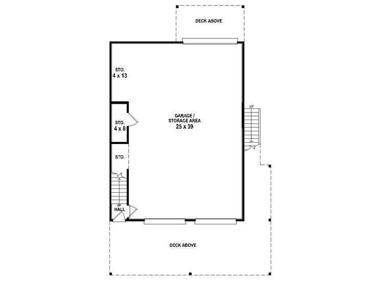 1st Floor Plan, 006G-0169