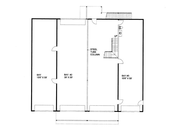 1st Floor Plan, 012B-0008