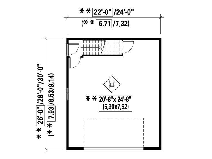 1st Floor Plan, 072G-0016