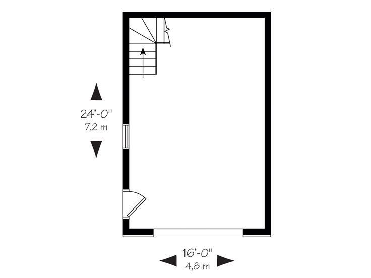 1st Floor Plan, 028G-0004