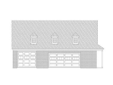 Garage Workshop Plan, 006G-0112