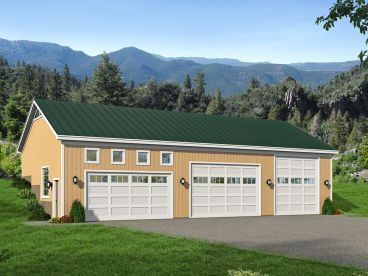 RV Garage with Workshop, 062G-0069