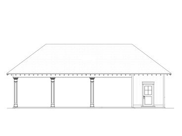 3-Car Carport Plan, 076G-0019