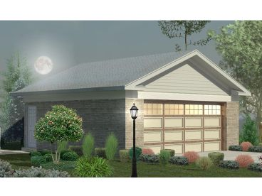 2 Car Garage Plans & Two-Car Garage Designs - The Garage Plan Shop