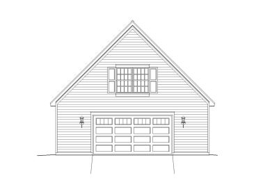 Garage Plan with Loft, 062G-0023
