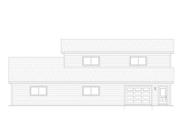 Garage Plan with Loft, 062G-0038