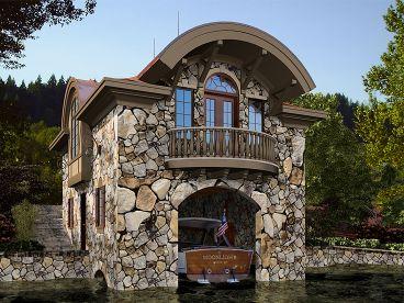 Boat House Plans Unique Boat House Plan Design 035g