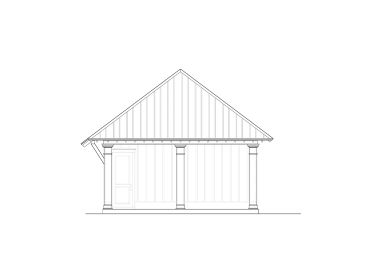 Carport Plan with Office, 076G-0018