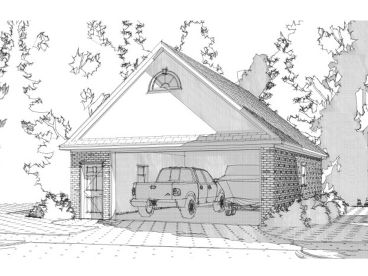 Garage plans with boat storage detached 2 car garage for Garage plans with boat storage