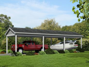 Carport Plan, Right, 062G-0030
