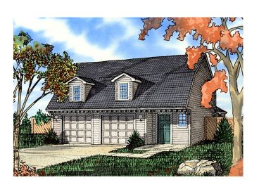 Unique Garage Plan, 009G-0004