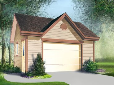 Multiple-Size Garage Plan, 072G-0008