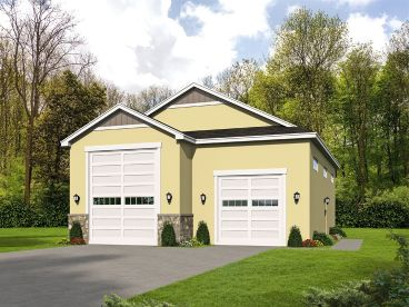 RV Garage Plan, 062G-0151