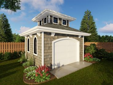 Storage Shed Plan, 050S-0007
