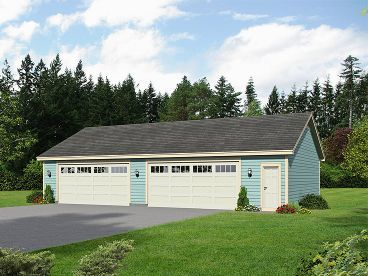 4 Car Garage >> 4 Car Garage Plans Larger Garage Designs The Garage Plan Shop