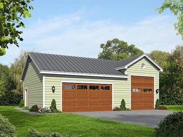 RV Garage Plan, 062G-0078