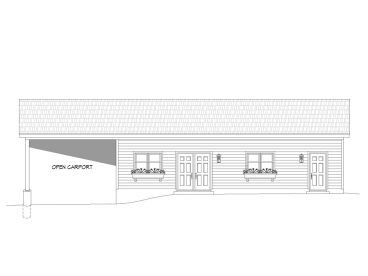 Garage Workshop Plan, 062G-0050