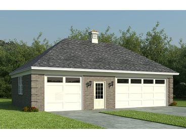 Double Garage with Shop, 006G-0058