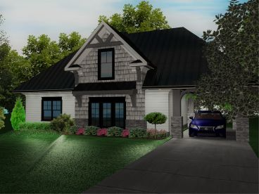 Carriage House Plan, 049G-0003