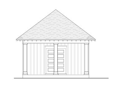 Carport Plan with Storage, 076G-0011