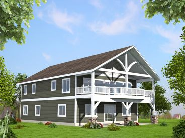 Carriage House Plan, 012G-0123