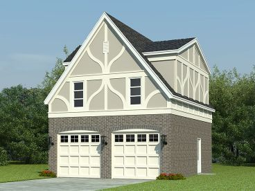 Carriage House Plan, 006G-0076