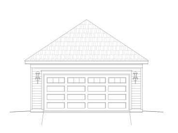 Double Garage Design, 062G-0008