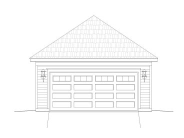 2-Car Garage Design, 062G-0007